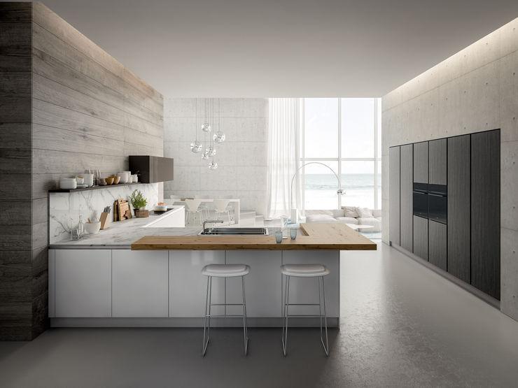 ATELIER CASA S.A.S Moderne Küchen