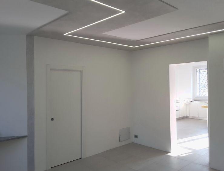 Casa Savada ArchitetturaTerapia® Soggiorno moderno Bianco