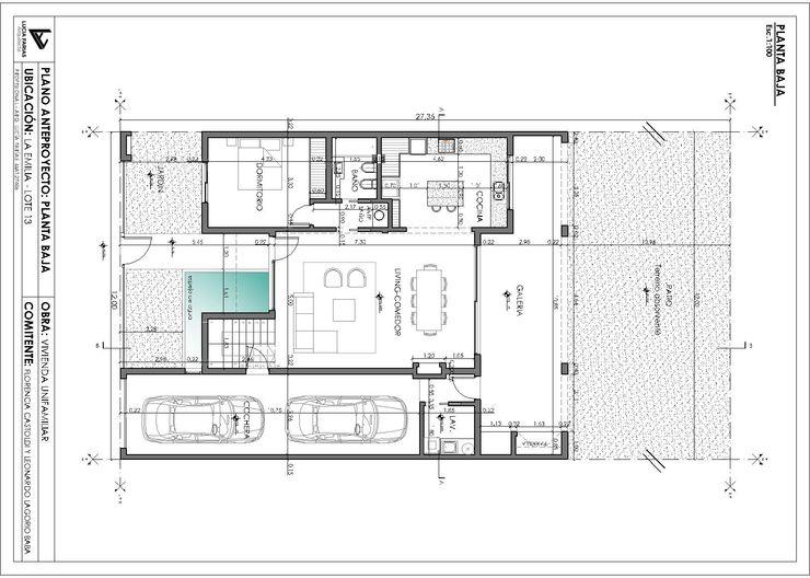 Estudio de Arquitectura Lucía Farías Casas modernas