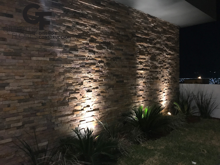 GF ARQUITECTOS Modern walls & floors Stone