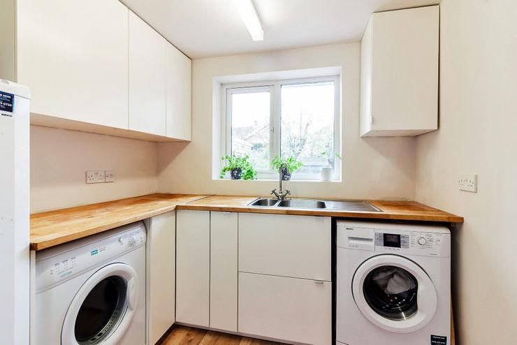 Utility dwell design Modern kitchen