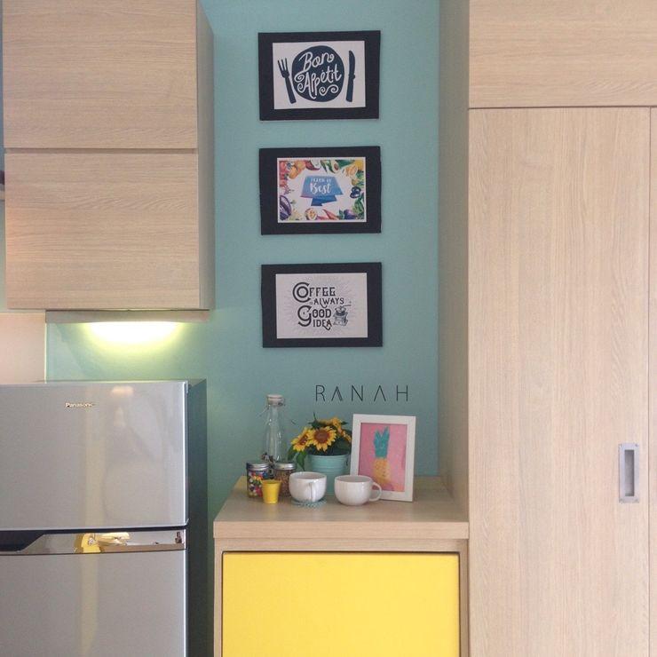 RANAH Modern kitchen Turquoise