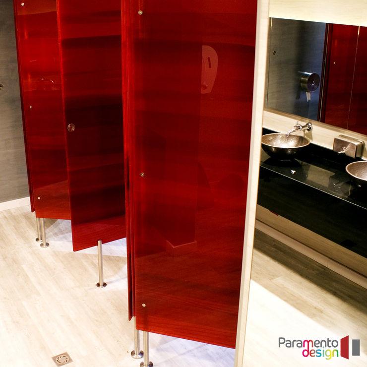 Paramento Design Modern Bathroom Red