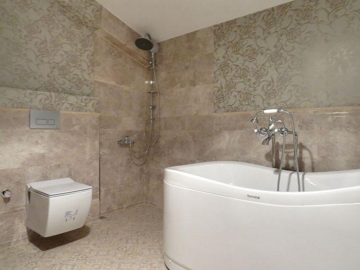 MİMPERA Classic style bathroom Ceramic Grey
