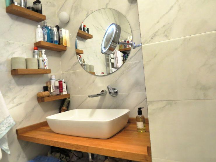 Ebeveyn Banyo MİMPERA İskandinav Banyo Seramik Beyaz