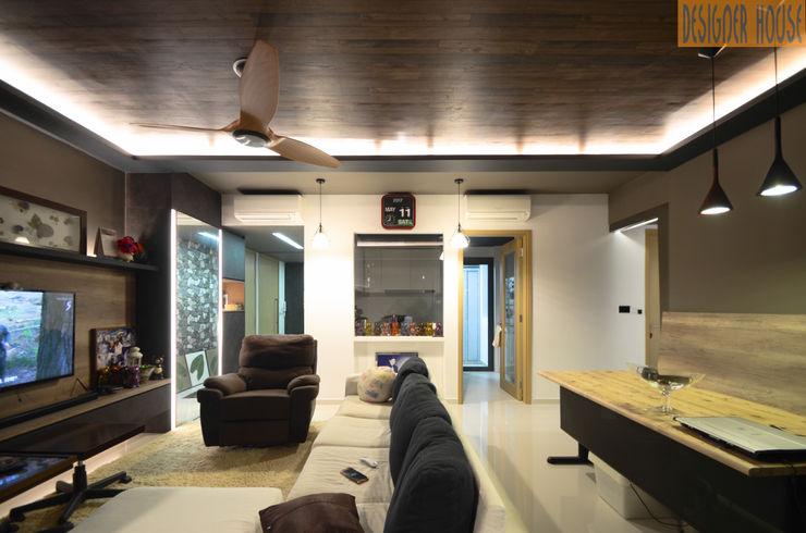 Kitchen view Designer House Modern Kitchen Plywood White