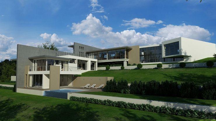 House van Wyk John McKenzie Architecture Modern houses