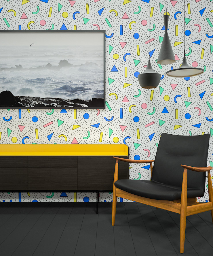 TRIANGLES CRAZINESS Pixers Living roomAccessories & decoration Multicolored