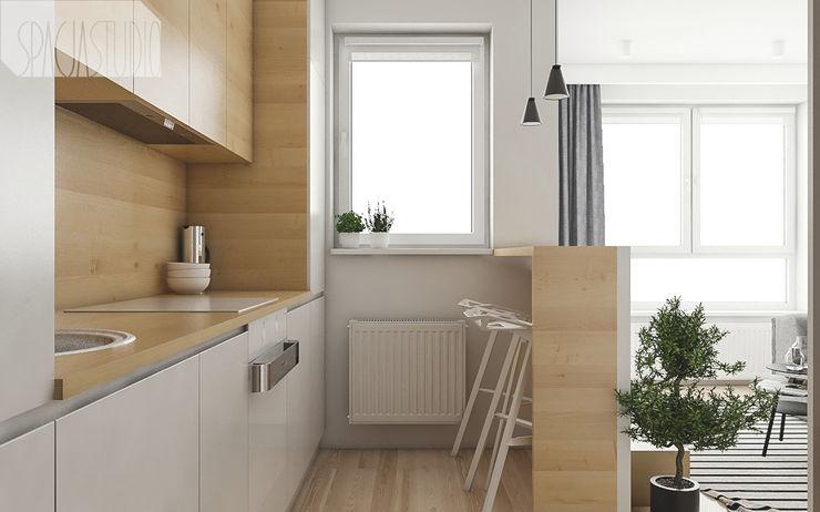 Spacja Studio 現代廚房設計點子、靈感&圖片