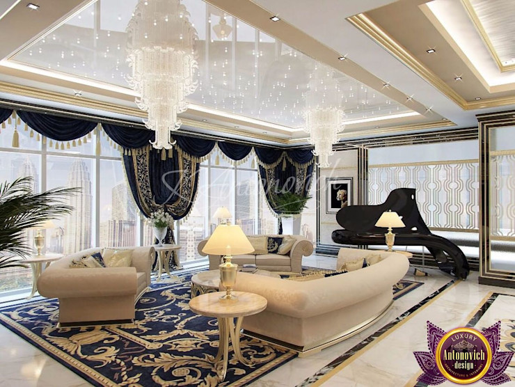 Luxury Antonovich Design Salon moderne