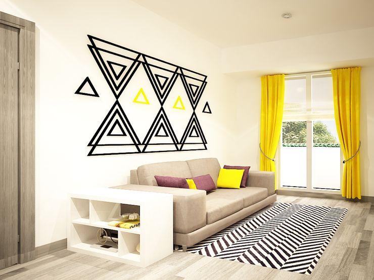 Diseño de sala Zono Interieur Salones modernos