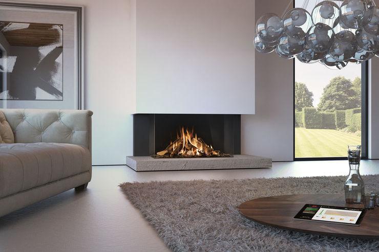 Recuperadores de Calor a Gás Biojaq - Comércio e Distribuição de Recuperadores de Calor Lda Salas de estar modernas