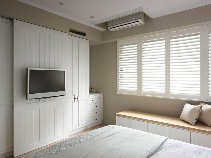 木皆空間設計 Country style bedroom