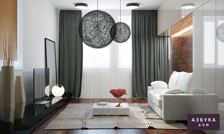 Студия дизайна 'Азбука Дом' Minimalist bedroom
