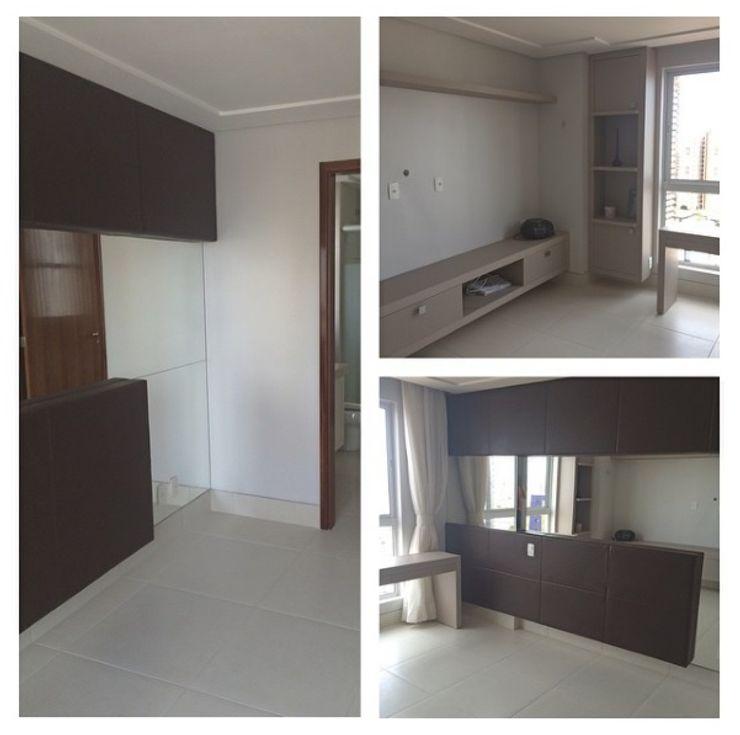 LVM Arquitetura Modern style bedroom