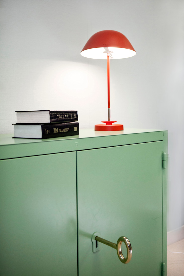 Binnenvorm Office spaces & stores Iron/Steel Green