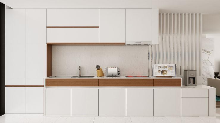 Esboçosigma, Lda Cocinas de estilo moderno