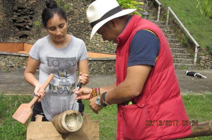 GUADUA Y BAMBU COLOMBIA Fertighaus Holz