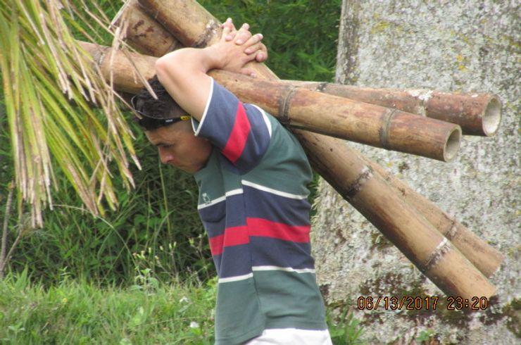 GUADUA Y BAMBU COLOMBIA Fertighaus