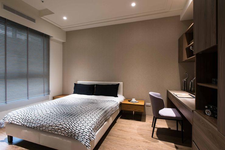 立禾空間設計有限公司 Chambre moderne