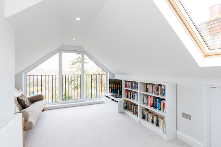 Vicarage Rd London SW14 VCDesign Architectural Services Modern media room