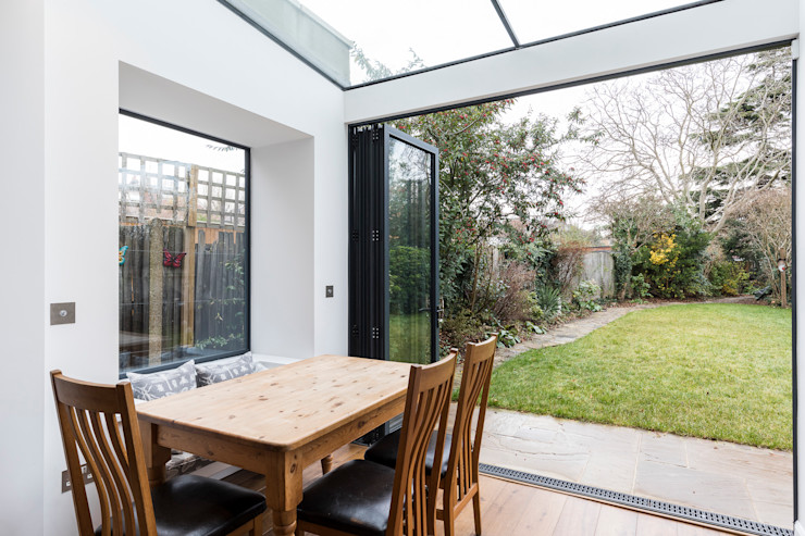 Vicarage Rd London SW14 VCDesign Architectural Services Modern kitchen
