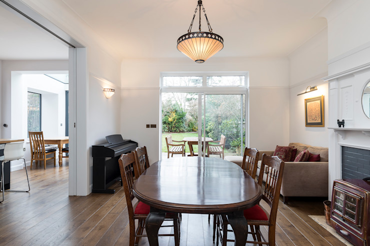 Vicarage Rd London SW14 VCDesign Architectural Services Modern dining room