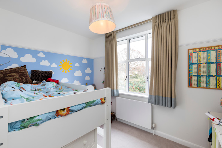 Vicarage Rd London SW14 VCDesign Architectural Services Modern style bedroom