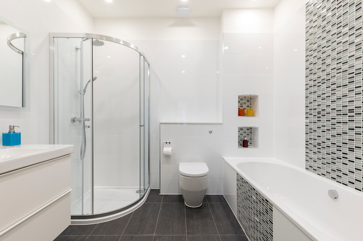 Vicarage Rd London SW14 VCDesign Architectural Services Modern bathroom