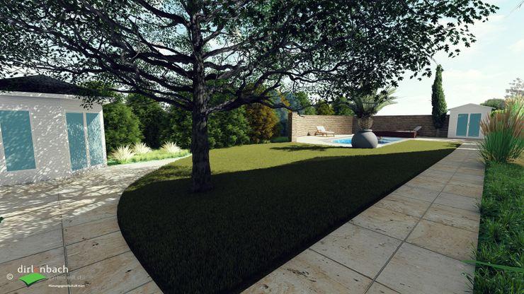 """""""Blick in den Garten"""" als Erläuterung des Vorentwurfs dirlenbach - garten mit stil"""