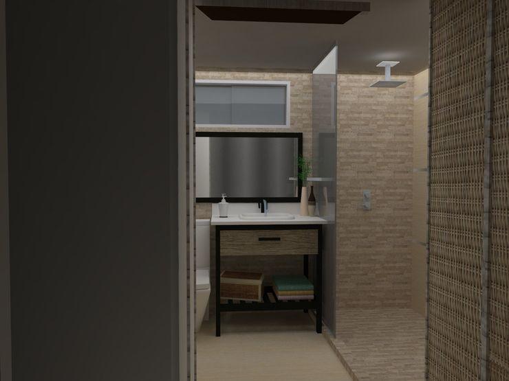 MAS ARQUITECTURA1 - Arq. Marynes Salas Modern Bathroom