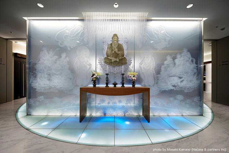藤村デザインスタジオ / FUJIMURA DESIGIN STUDIO Комерційні простори Скло Білий