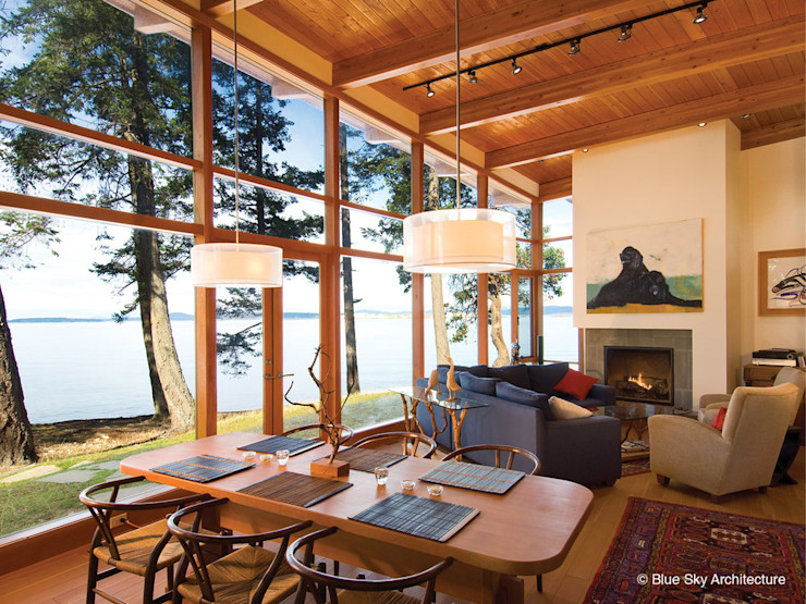 Helliwell + Smith • Blue Sky Architecture Moderne Wohnzimmer