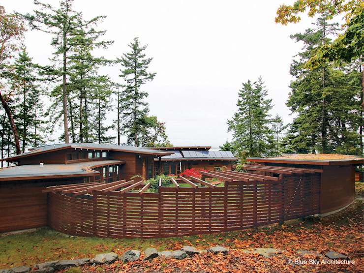Helliwell + Smith • Blue Sky Architecture Moderne Häuser
