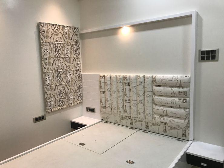 Nabh Design & Associates 臥室 木頭
