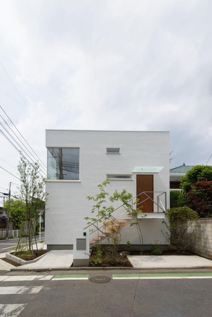 H2O設計室 ( H2O Architectural design office ) Modern Houses Wood White