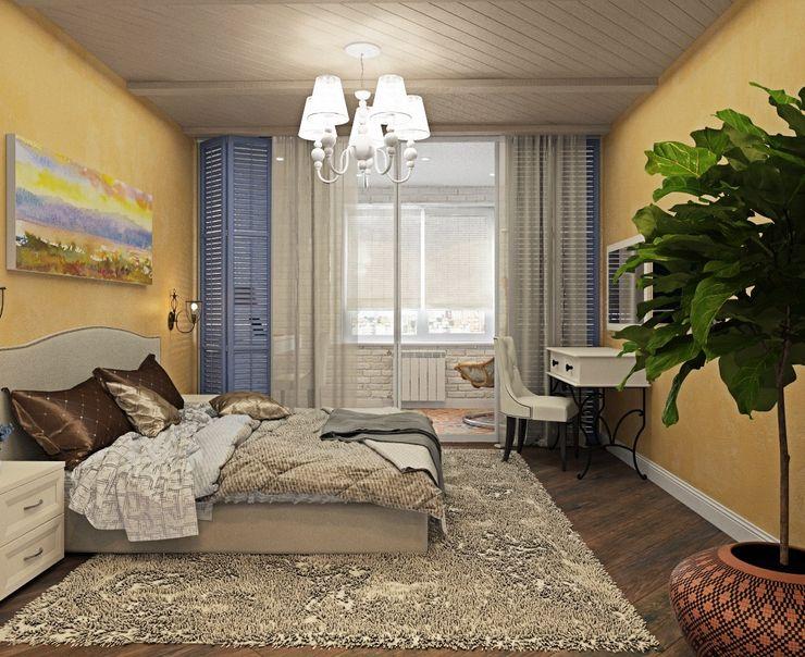 ДизайнМастер Спальня Жовтий