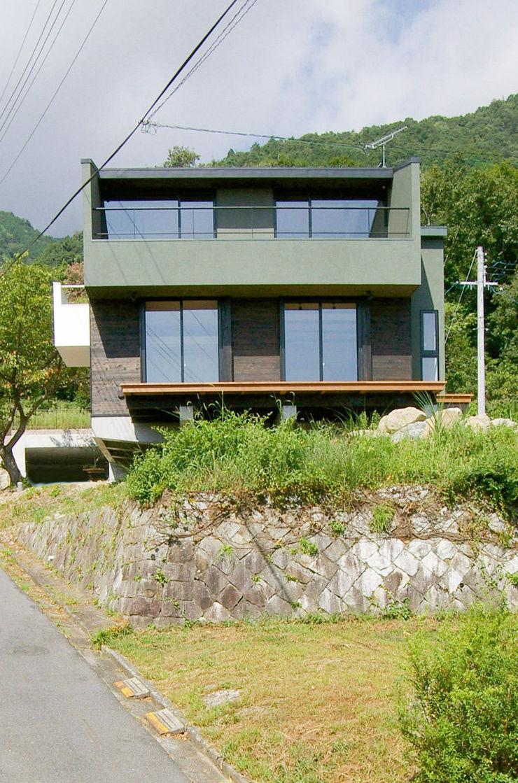 一級建築士事務所アールタイプ Casas modernas Verde