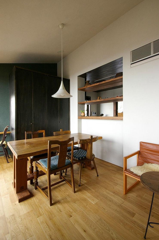 一級建築士事務所アールタイプ Cozinhas modernas Madeira Efeito de madeira