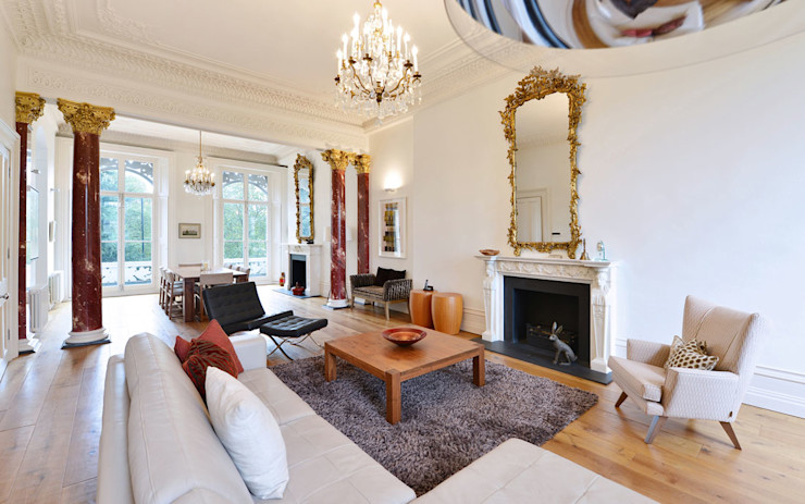 Living Room Graham D Holland Soggiorno classico