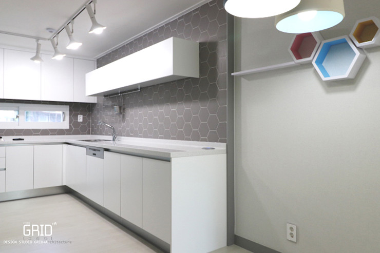목동현대 주방인테리어 Design Studio Grid+A 모던스타일 주방