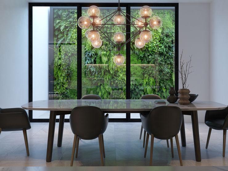 Remodelación interior MG estudio de arquitectura Comedores modernos