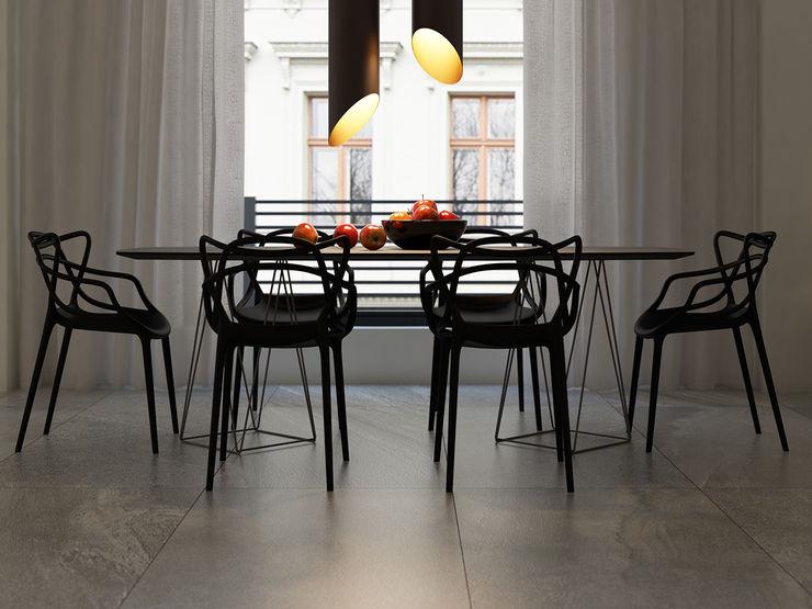 Diseño de interiores MG estudio de arquitectura Comedores modernos