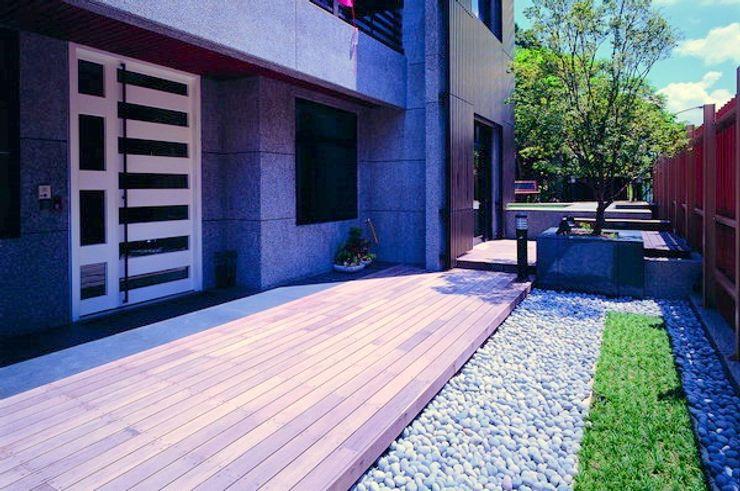 昱紘823 云鼎設計/陳柏壽建築師事務所 花園柵欄與牆