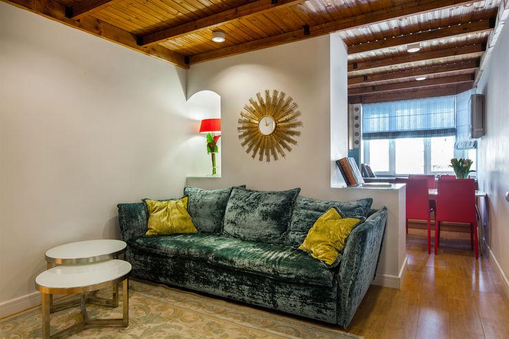 Дизайн-студия 'Вердиз' Eclectic style living room