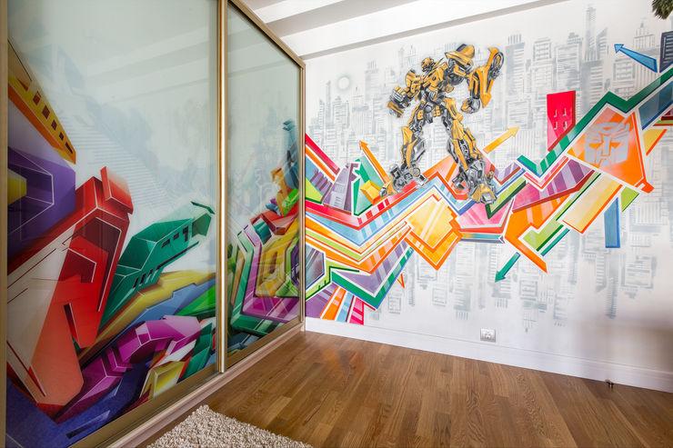Дизайн-студия 'Вердиз' Eclectic style nursery/kids room