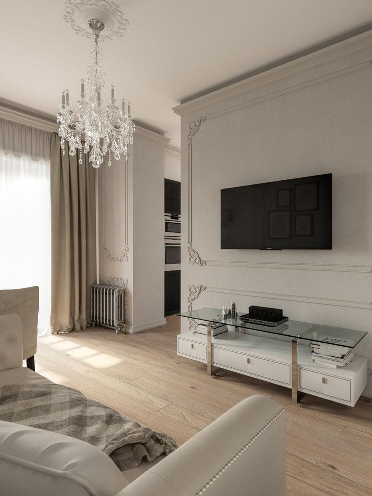 Дизайн-студия 'Вердиз' Classic style living room