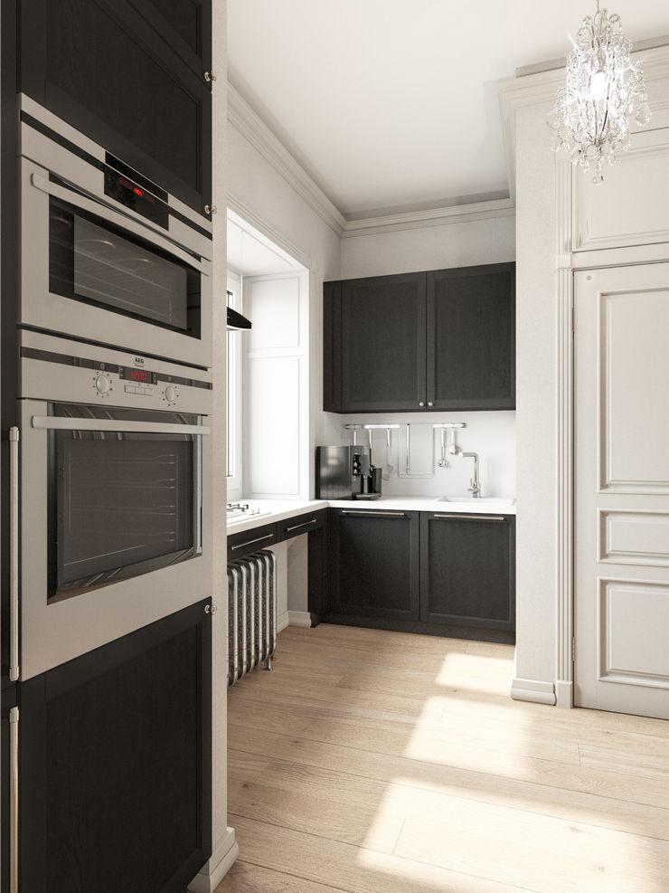 Дизайн-студия 'Вердиз' Classic style kitchen