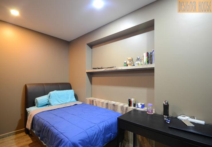 Designer House BedroomBedside tables Beige
