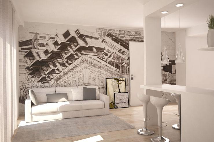 Silvana Barbato Modern living room